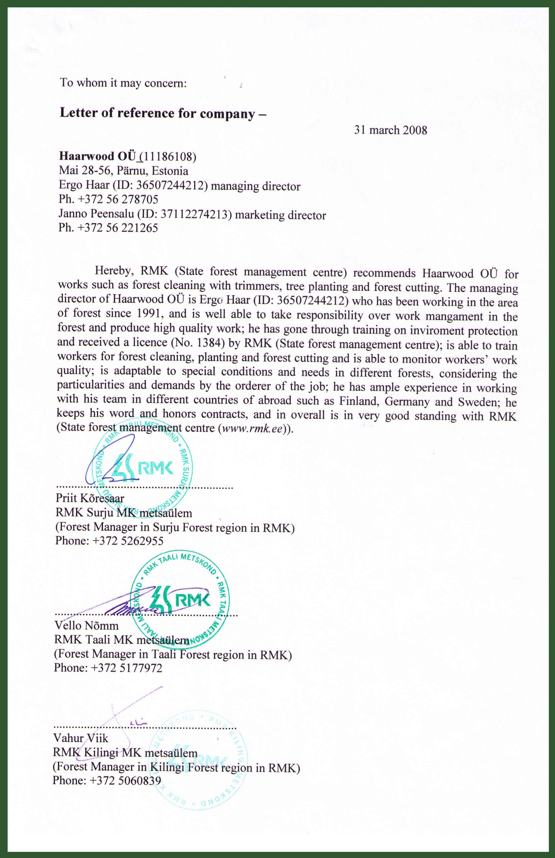 certificate of recommendation sample – Certificate of Recommendation Sample